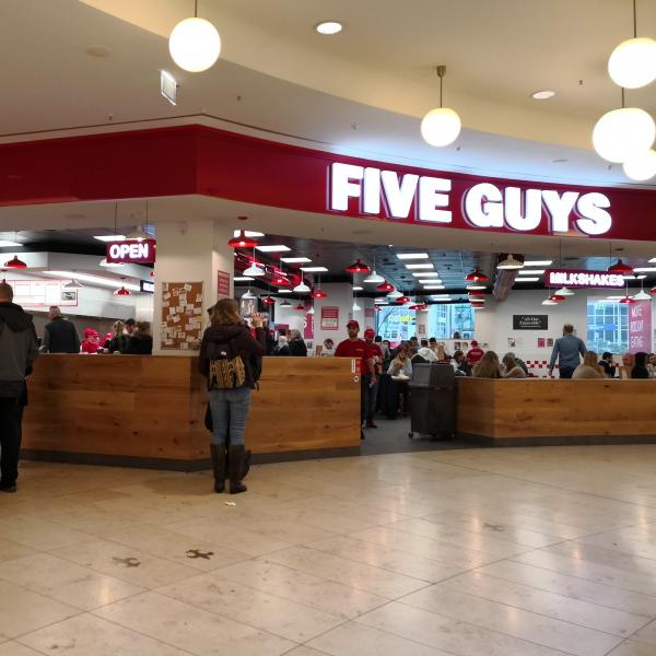 Five Guys again...
